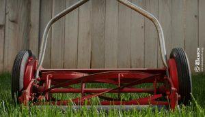 red reel mower