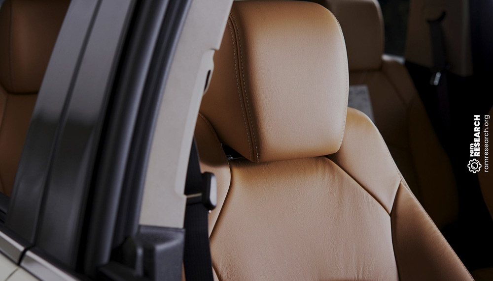 Beige Car Seat Covers for Highback Integrated Belt Seat Beige Floor Mats