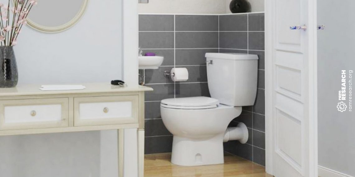 Picture of macerating toilet
