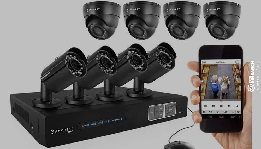 Picture of amcrest 1080p camera