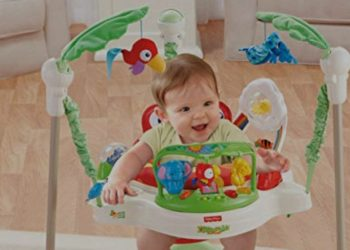 Picture of baby exersaucer