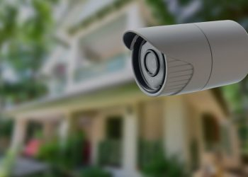 Picture of home security camera
