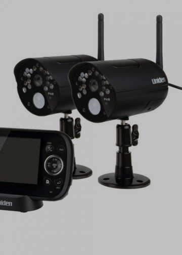 Picture of uniden video surveillance