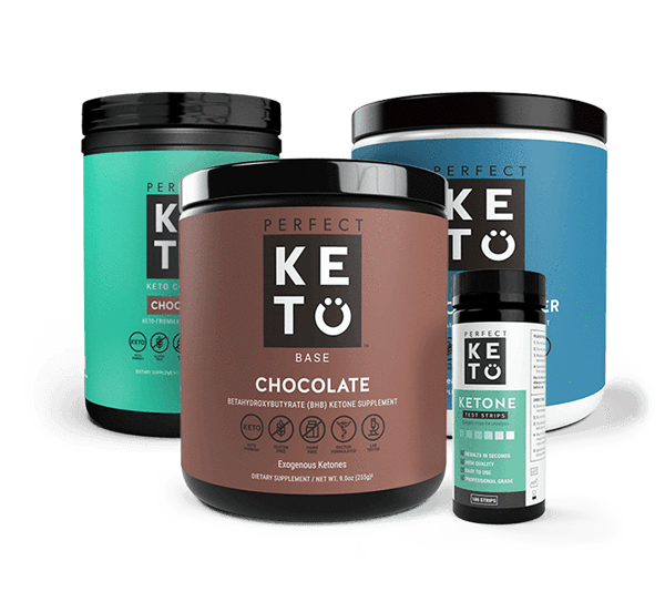 perfect keto starter bundle chocolate