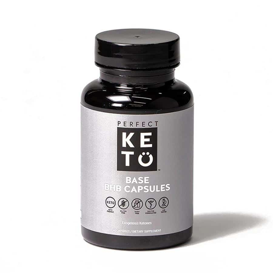 BHB capsules bottle perfect keto