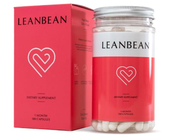 Leanbean bottle and box