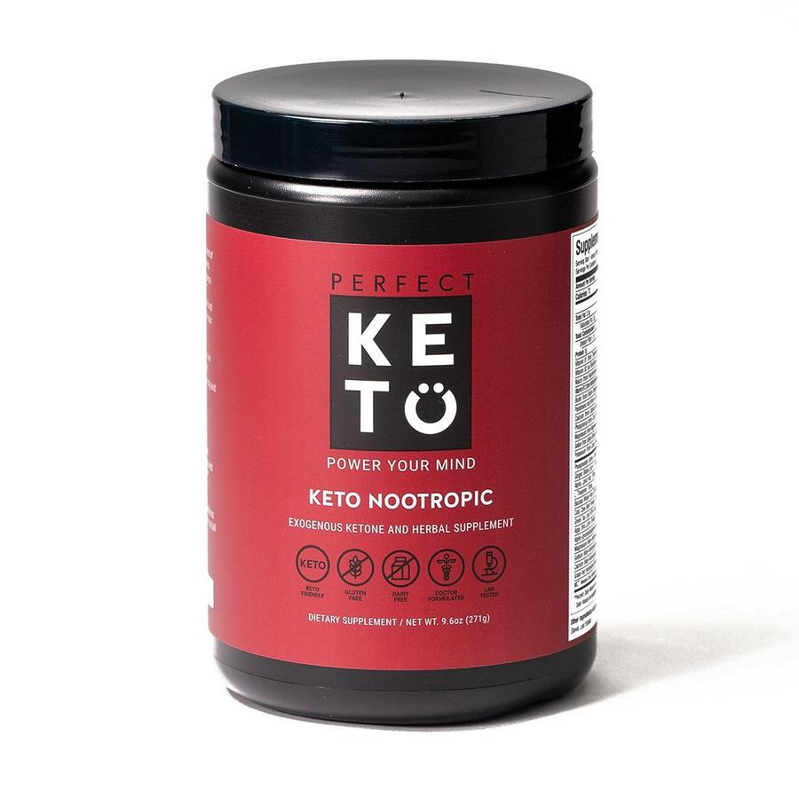 Nootropics bottle perfect keto