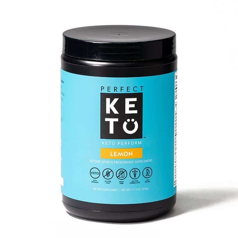 Perform drink bottle perfect keto