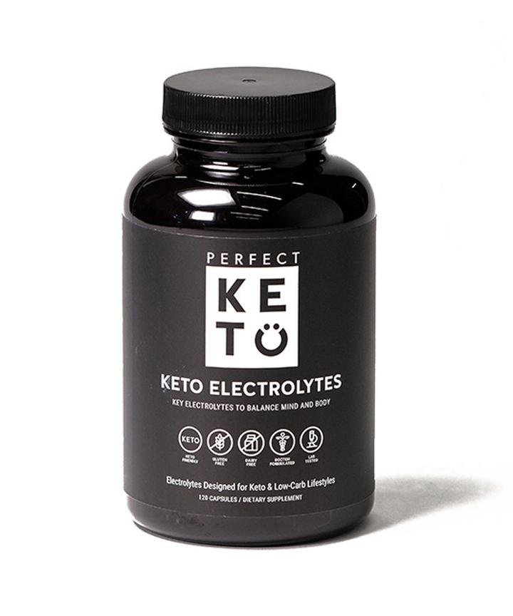electrolytes bottle perfect keto