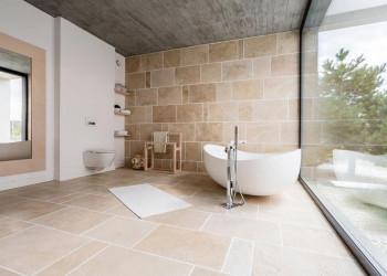 brand new, tidy bathroom