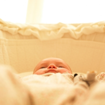 Baby In The Bassinet