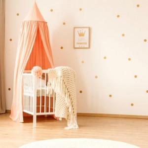 mini crib bedding for girl
